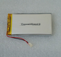 Wholesale 3 V mAh Li Po Lithium polymer battery cell For Sat Nav GPS Systems DVD Player