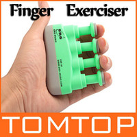 Wholesale Green Portable Guitar Bass Piano Hand and Finger Exerciser Extend O Grip Trainer I137