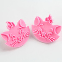 Wholesale Lovely Cartoon Fondant Pastry Decorating Tool Biscuit Cake Cookie Cutter Mold