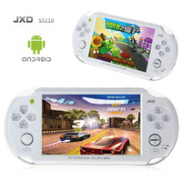 Wholesale JXD S5110 MP3 MP4 MP5 Game Player Android OTG WIFI Ice Cream Screen Games Console