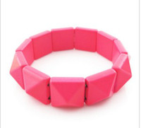 Women Bracelet Weatern Foreign Tread Fluorescence Colour Pun...