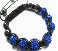 Women Bracelet Pearl Weaved Western Latest Blue Fashion Hot ...