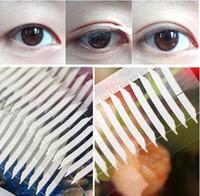 Wholesale New Double Eyelid sticker double sided PC SHEET bag Medical stripe make up eyeliner Tape invisibl