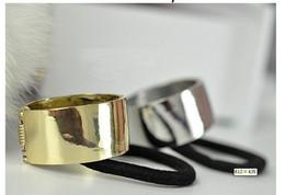 Punk Ponytail Holder Metal Circle Cone Cuff Hair Tie Women's Jewelry 12pcs