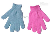 Wholesale Body Cloth Bath Exfoliating Gloves Cloth Scrubber Face Mitt Moisturizing Skin Care HB926