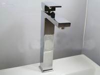 Centerset  Brass Ceramic chrome bathroom faucet high quality basin tap brass hot&cold sink mixer brand new