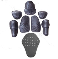 Wholesale 8PCs Motorcycle jacket soft armor protector kit jgk high quality