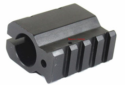 Wholesale AR15 M4 Low Profile Gas Block Mount for inch Barrel with mm Weaver Rail