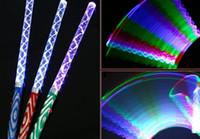 Wholesale Electronic light sticks Shaking Glow Stick Flash stick fluorescent water wave rod