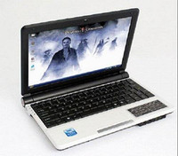 Wholesale quot OEM S30 Intel Atom D2500 Win7 OS Mini Laptop PC G RAM G Notebook Compute