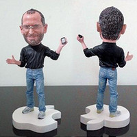 Wholesale 18cm Memory Apple Steve Jobs with Glasses amp Iphone Action Figures amp Character Models Toys Hobbies