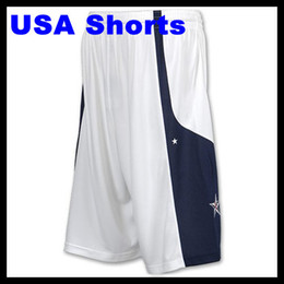 Wholesale 2012 Basketball Hyper Elite Men s Shorts Home White Dark Blue Shorts