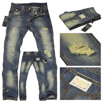 Wholesale 2012 hot selling new The hole men s jeans men mens jeans trousers W28 W36 RJ33