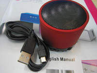 Wholesale WELL KNOW SPEAKER Mini Portable Speaker Sound blasting Mini Speaker Use For MP3 Tablet PC Gift With Retail Box