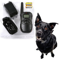 Wholesale New Arrivals Romote Pet Electronic Eletric Remote Dog Traning Collar Anti Bark LCD Display