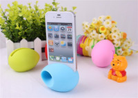 Wholesale Music Egg Speaker Sound Box Portable Amplifier for iphone s with package