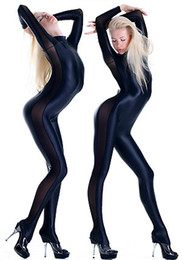 Wholesale latex Sexy Suit Lycra Spandex Zentai Catsuit Costume hot