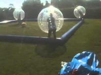 Wholesale inflatable bumper ball body zorb play with football per air pump free of charge