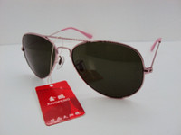 Wholesale 60pcs fashion sunglasses Men s Women s sunglasses Sunglasses pink frame green lens