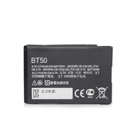 No For Motorola  Hot sale Li-ion Battery 910mAh For Motorola Phone BT50 V323 Krzr K1m Q V360 B0305M 100PCS lot