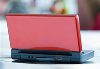 Wholesale 5pcs Black Red Portable Game Players Gme consoles System Multi Language Brand New one year warranty