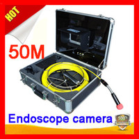 Wholesale Freeshipping for m cable Pipe Wall Sewer Inspection Camera System quot video endoscope camera system