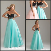 Wholesale Gala Design Sweetheart Neck Black and Green Baby Pink Beaded Waist Ball Gown Puffy Prom Dresses