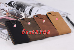 Wholesale Flip Leather fuzzy restore ancient color pouch skin case pouches for iphone G S th Cover Purse