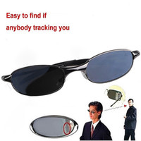 Wholesale Dashing Anti Track UV Protection Spy Reflex Sunglasses Side Mirror with Protective Case