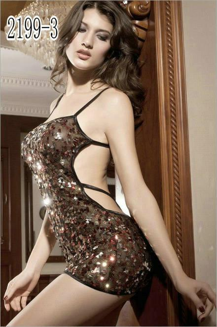 Sexy Lingerie women's dress Clubwear Fashion night dress fitted casual summer dress women clothing