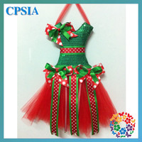 Wholesale Christmas tutu bow holder one size with length and many style to choose