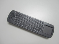 Wholesale Brand new Best price RC12 Wireless air mouse G RF Mini wireless Keyboard mouse combo in