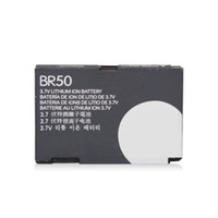 No For Motorola  Li-ion Battery BR50 710mAh For Motorola Phone Razr Razor V3 V3c V3i B0304M 2PCS