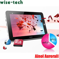 Wholesale Original Ainol Novo Aurora ii Dual Core Android IPS tablet pc GB RAM GB HDD