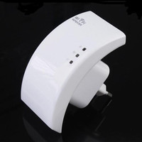 Wholesale New Wireless N Wifi Repeater N Router Range Expander Mbps dBi antennas