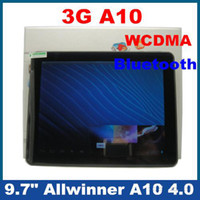 Wholesale New inch Allwinner A10 G built in G wcdma GHz Tablet PC Android WiFi HDMI Bluetooth D