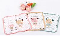 Wholesale 10pcs Baby cotton cartoon handkerchief sweat pat pat milk saliva towel outfit