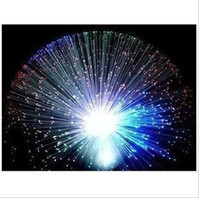 beauty disc - LED Night Light luminous disc fiber optic lights Gypsophila colorful color lamp LED beauty toys