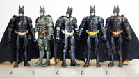Wholesale 5 Styles quot Super Hero Batman Action Figure Doll Toys Movie PVC Figures Christmas Gift Toy