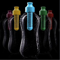 Wholesale Outdoor Camping Multi function Water Bottle Hydration Filtered Drinking Sport KettleTravel Hiking