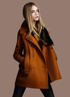 Women apparel garment - 2014 fashion women wool coat cape women s clothing autumn winter apparel garments outwear