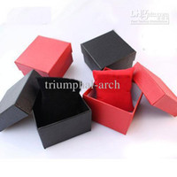 paper watch box - 20Pcs Paper Watch Box with Soft pillow Paper Gift Boxes Case For Bangle Jewelry or Watch colors