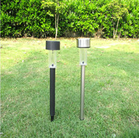 Wholesale Outdoor Solar stainless steel LED Landscape Garden Path Light Garden Solar Light Lawn Light