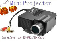 Wholesale FEDEX Free Home LED Mini Projector with AV IN USG SD Card AB2048