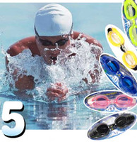 Wholesale Antifog Waterproof Swimming Goggles Ear Nose Clip Goggles