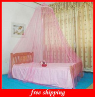 Wholesale Fashion Summer Crib Netting Baby Foldable Bed Nets Hanging Dome Mosquito Net Princess Mosquito Net