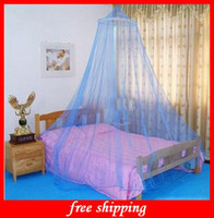 Wholesale 1pcs High Quality Ceiling Nets Dome Mosquito Nets Encryption Princess Bed Lace Classical
