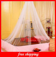 Wholesale Encryption Dome Mosquito Nets Polyester Bed Curtain Mosquito Net Condole Mosquito Nets Blue Pink