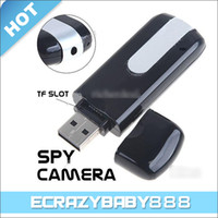 Wholesale U10 USB Flash Drive Disk HD Hidden Spy Camera Digital Video Recorder DVR Mini DV Camcorder