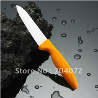 Wholesale quot Chic Chefs Horizontal Ceramic Knife ABS handle different colors